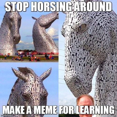 horsingaroundmeme