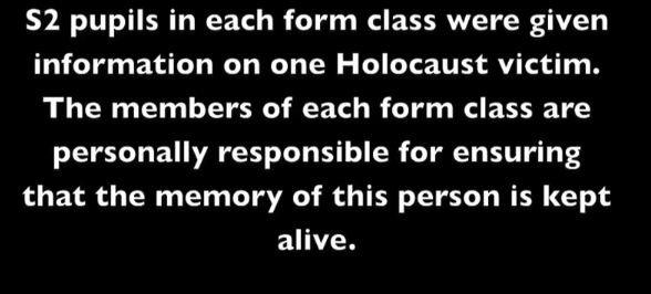 GHS Holocaust