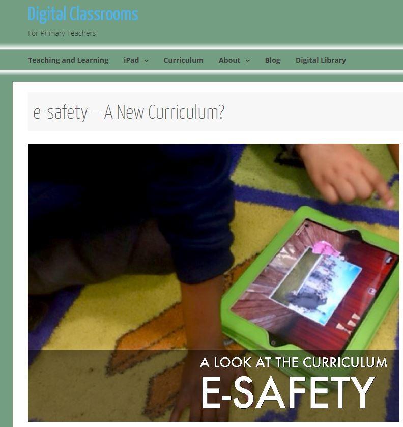 DigitalClassroomsE-SafetyCurriculum