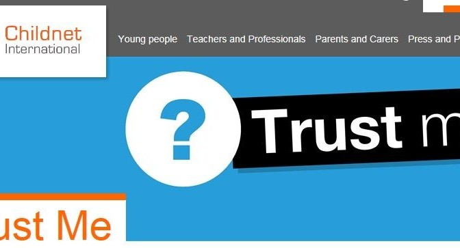 Trust Me – learning how to recognise what to trust online