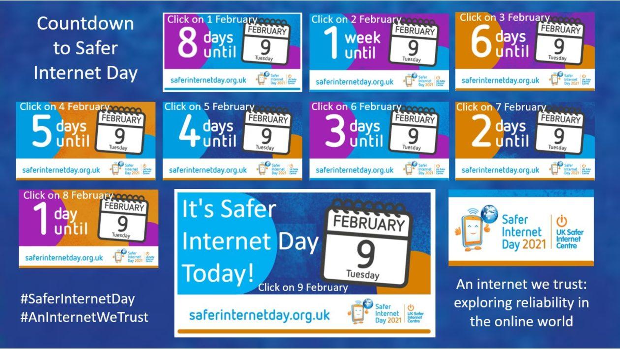 Countdown Calendar to Safer Internet Day 2021