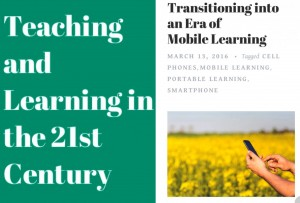 Moving to using mobile devices for learning