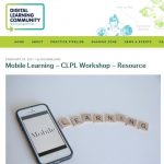 DigiLearnScot Mobile Learning Career-Long professional Learning Resource