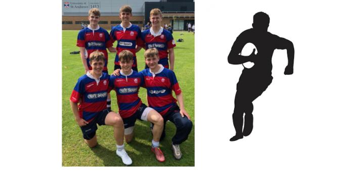 U17 Caledonia Rugby Squad