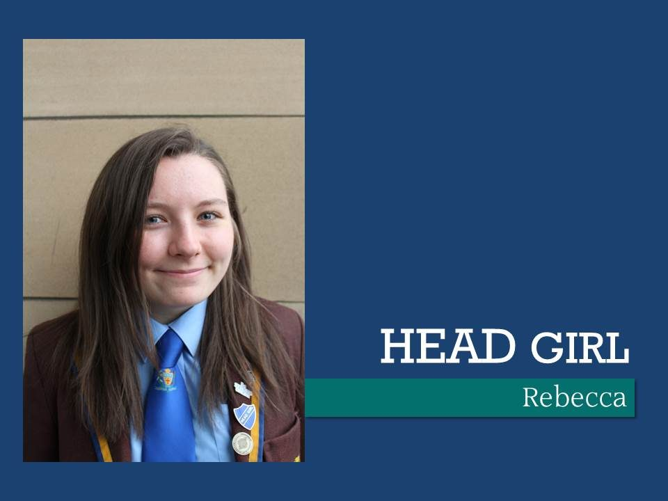 Head Girl NDHS Glasgow