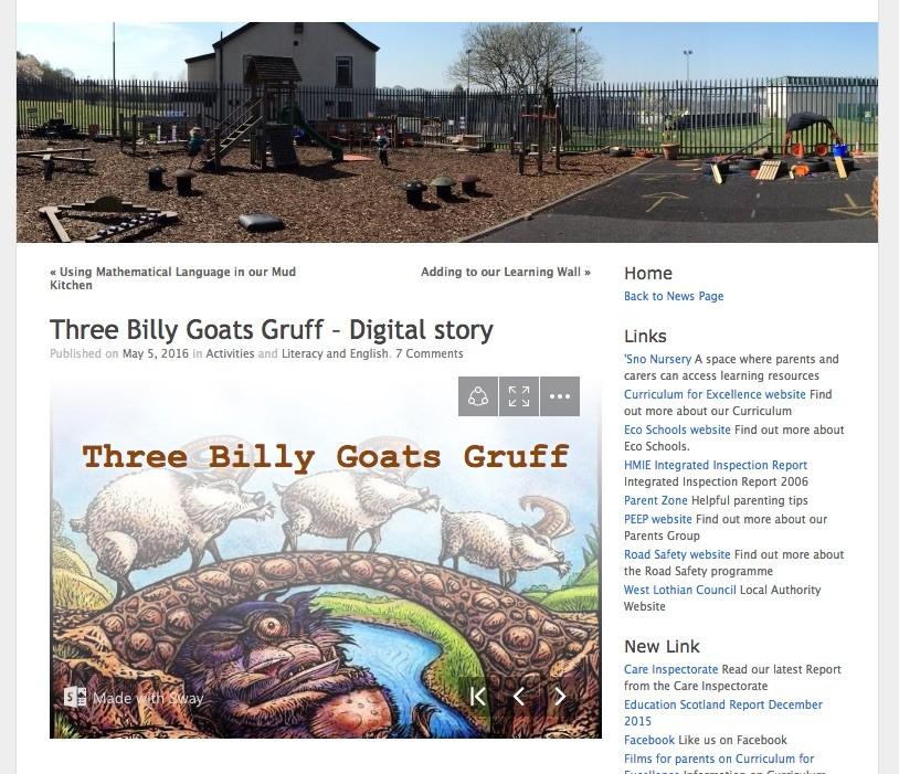 screenshot three-billy-goats blog