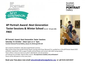 Taster Session BP Portrait Award