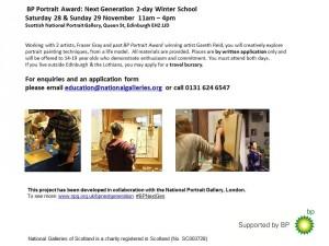 Winter School BP Portrait Award