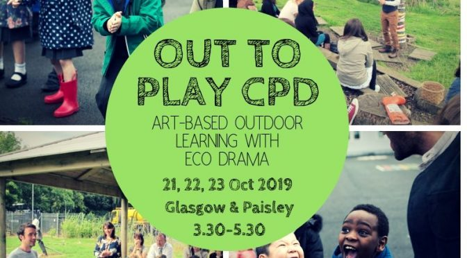 Out to Play CPD Sessions – October 2019
