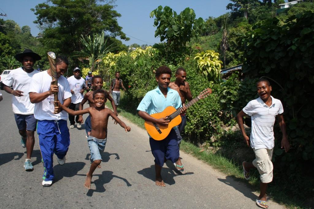Delhi 2010 Baton - Solomon Islands