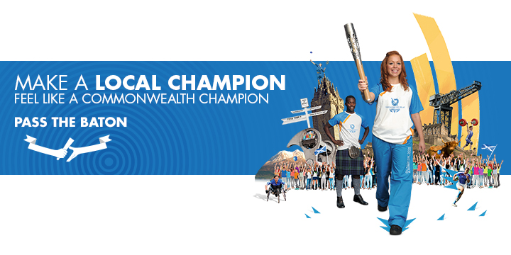 Glasgow 2014 batonbearer recruitment image