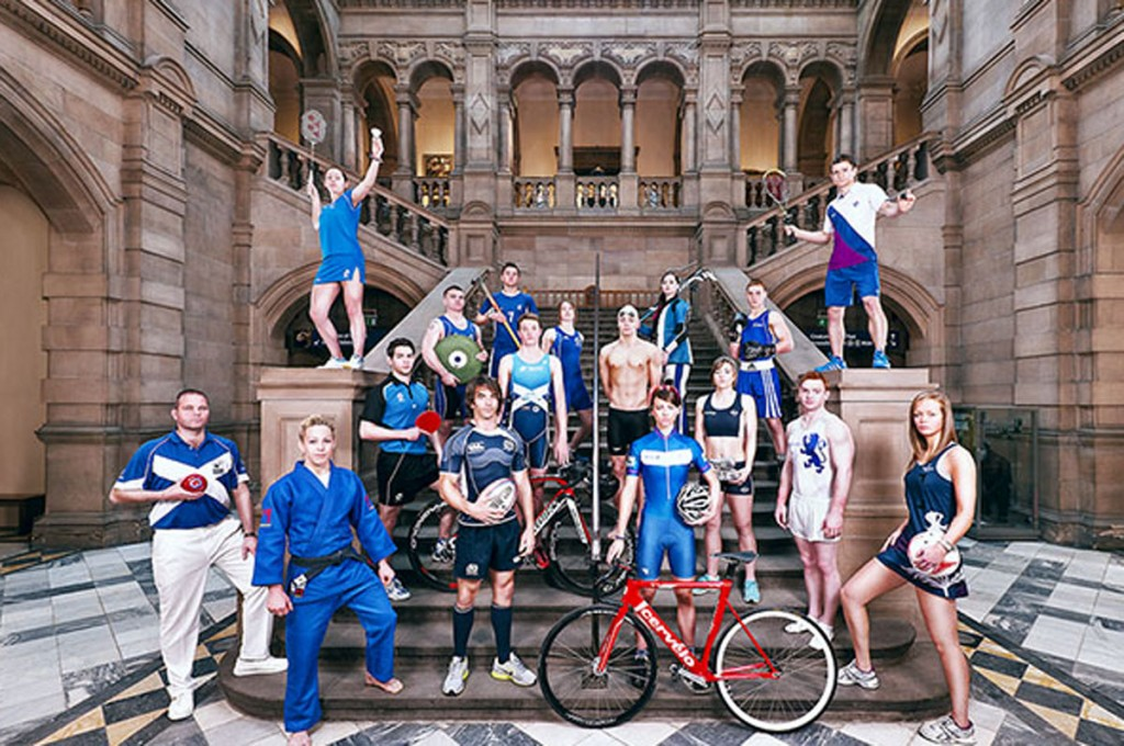 17 Sports, 1 Team (copyright Commonwealth Games Scotland)