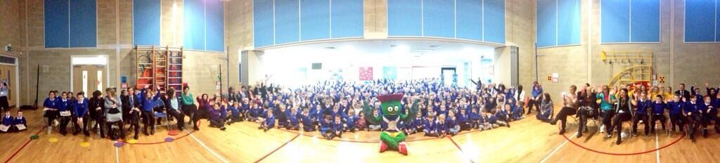 Gargieston Primary meets Clyde