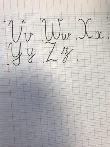 French Handwriting   Beth A's Teaching Eportfolio