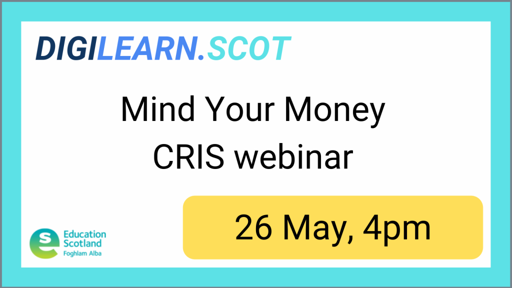 CRIS MONEY WEBIANR 26 MAY