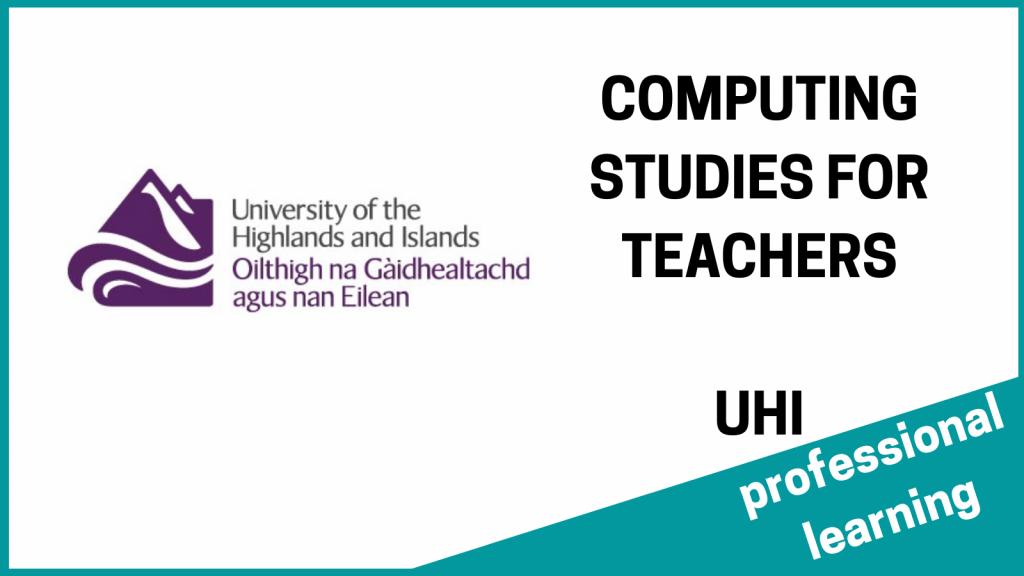COMPUTING STUDIES CLPL UHI