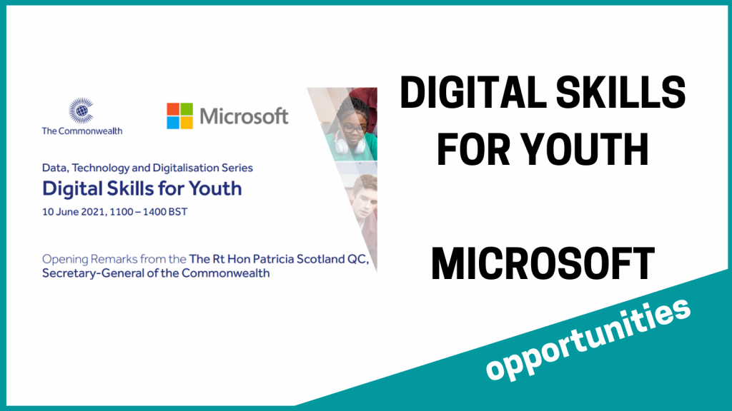 digital skills for youth - microsoft