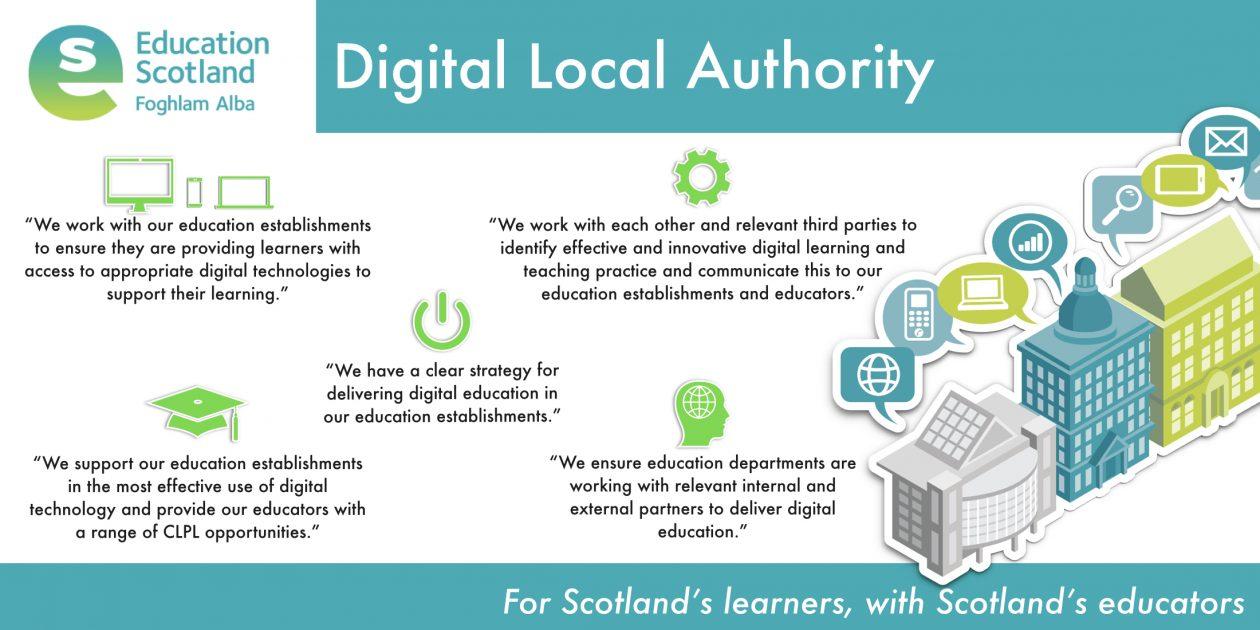 digital local authority vision diagram
