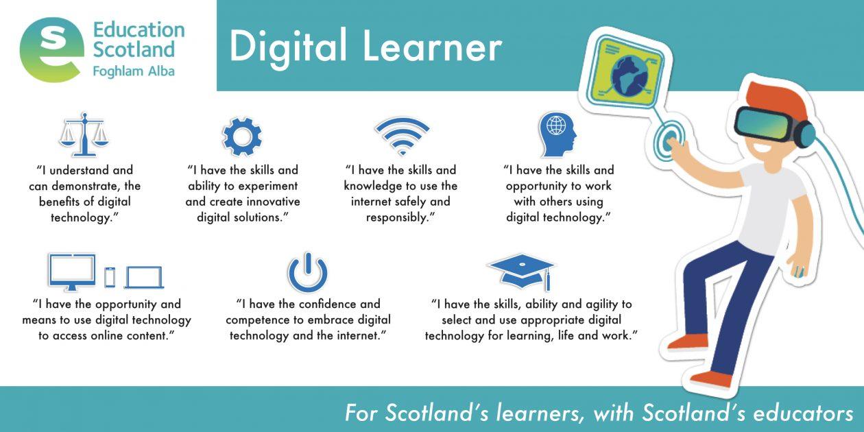 digital learner vision diagram