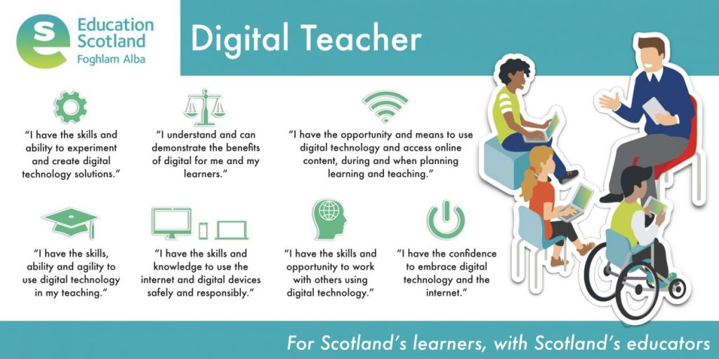 digital teacher vision diagram