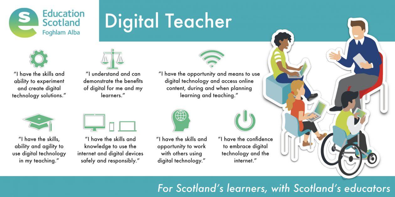 digital teacher vision diagram