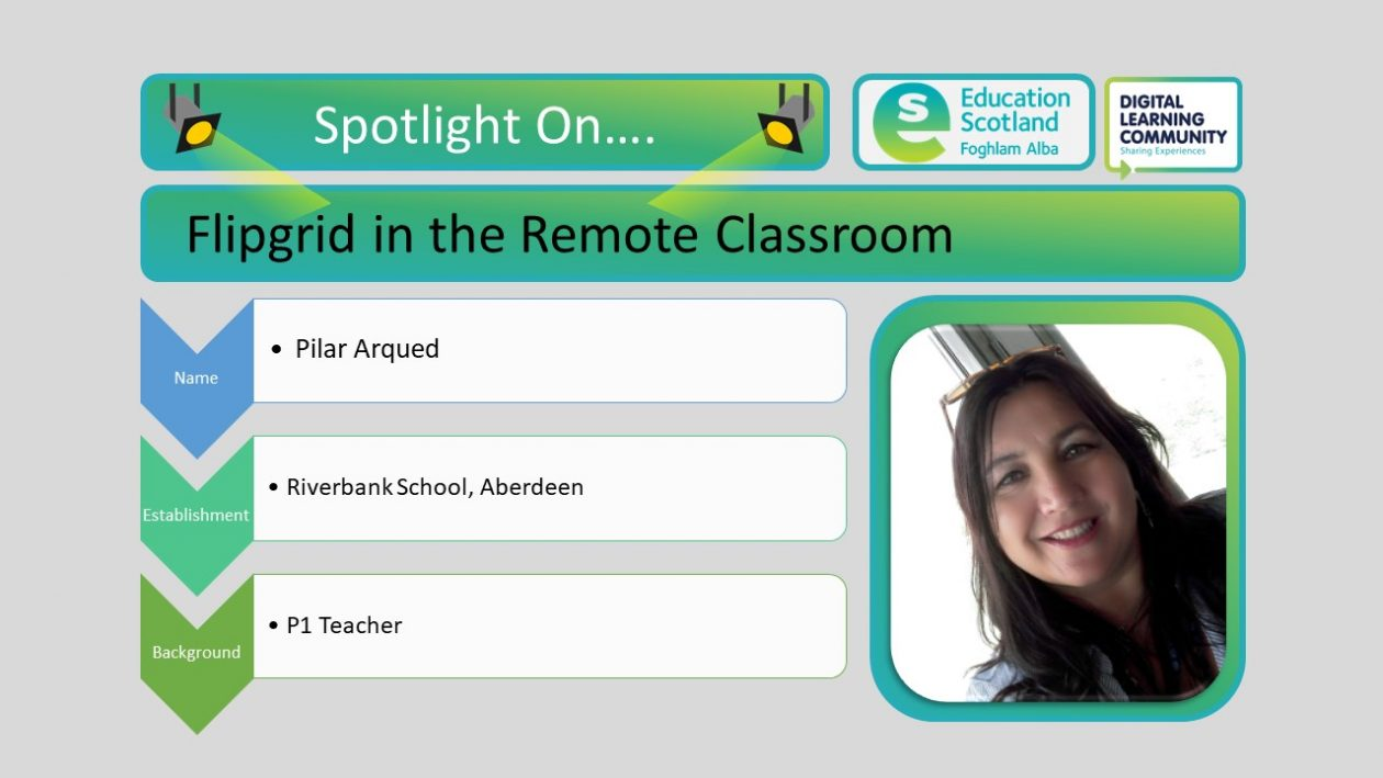 flipgrid in the remote classroom blog post header