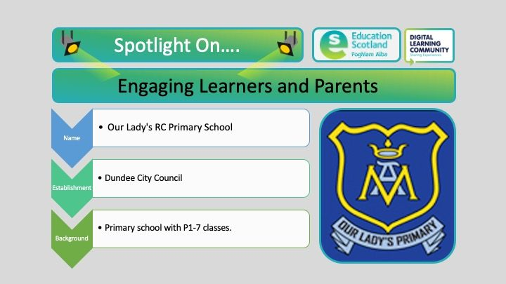 engaging learners and parents blog post header
