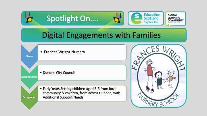 digital engagement with families blog post header