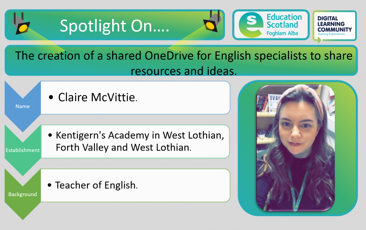 Blog post header graphic for OneDrive English shared resources