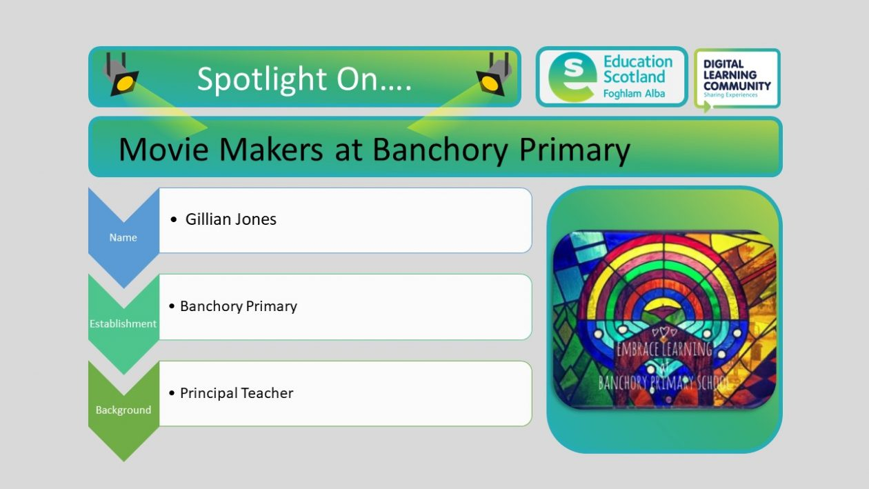 movie maker as Banchory primary blog post header