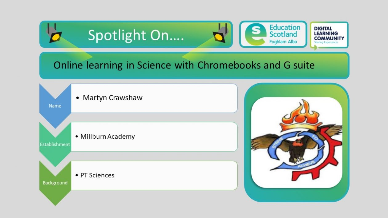 chrome books and online learning in science blog post header