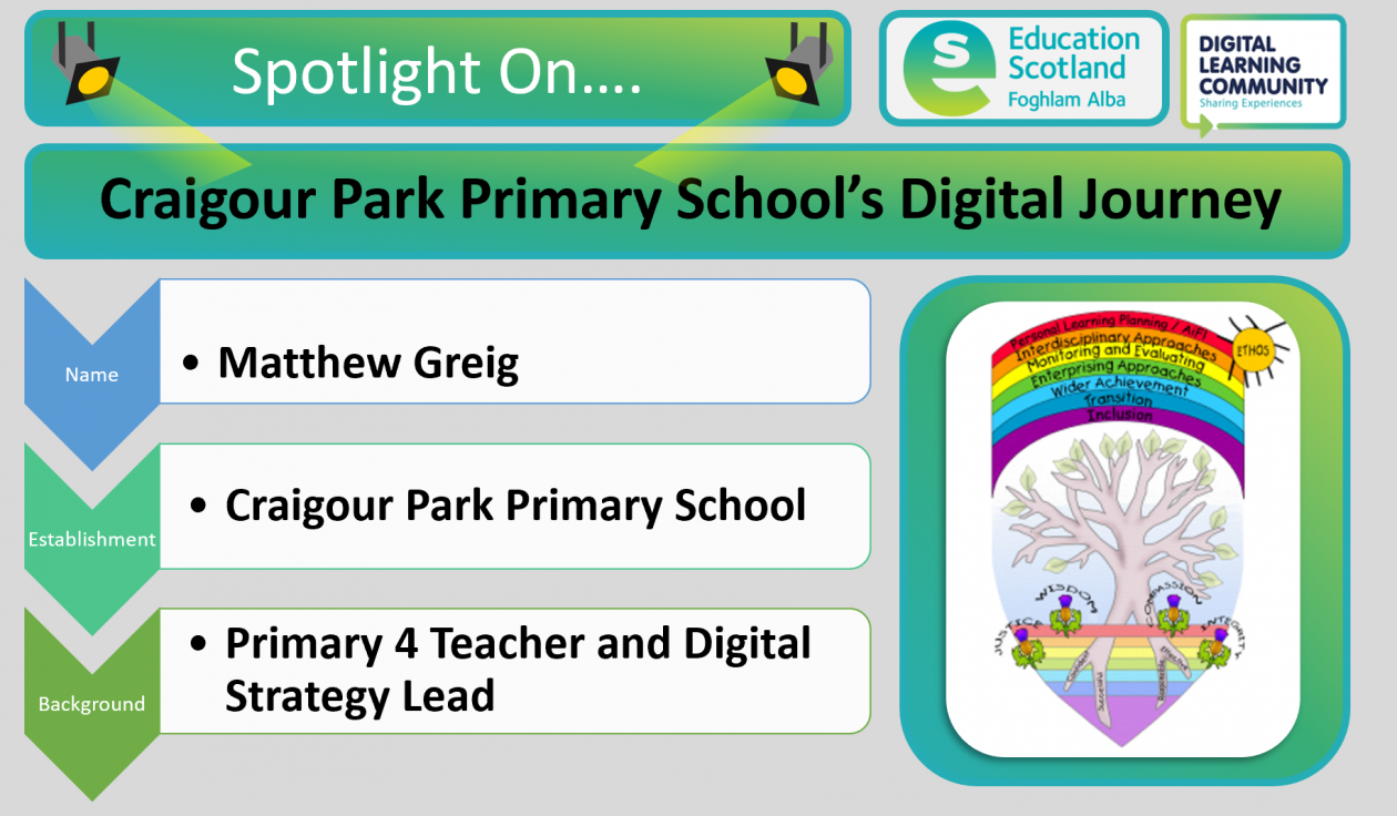 Craigour Park primary blog post header