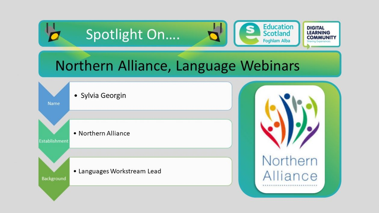 Northern Alliance language webinars
