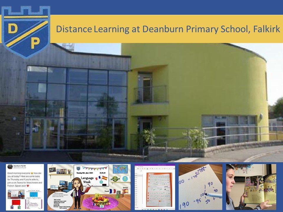Deanburn primary school blog post header