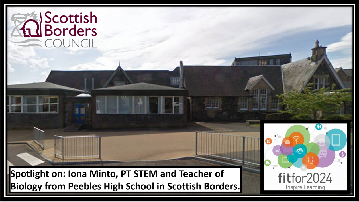 Peebles high school STEM blog post header