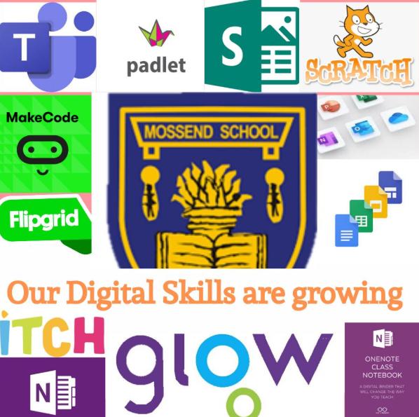 collection of digital tool logos