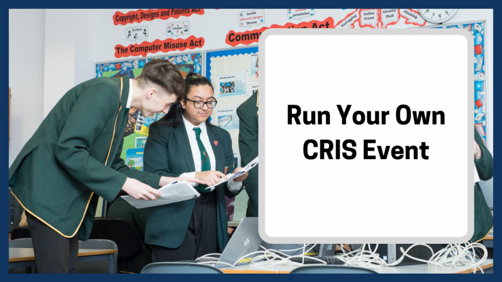 run your own CRIS event
