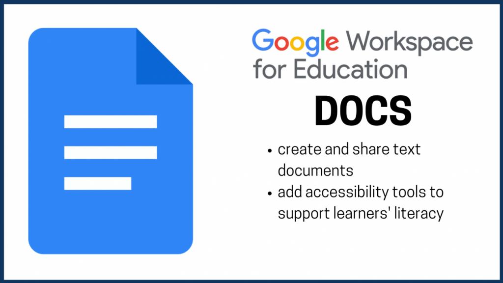 google docs word processor