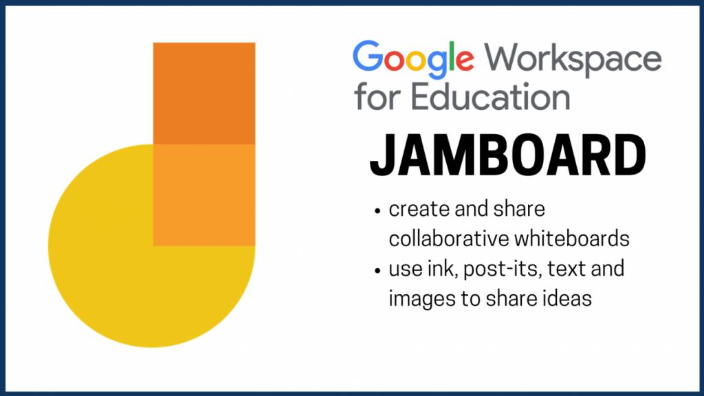 google jamboard whiteboard