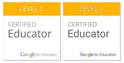google certified educator logos