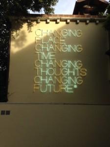 Changing Place art Venice