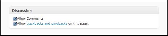 Screenshot Discussion Metabox