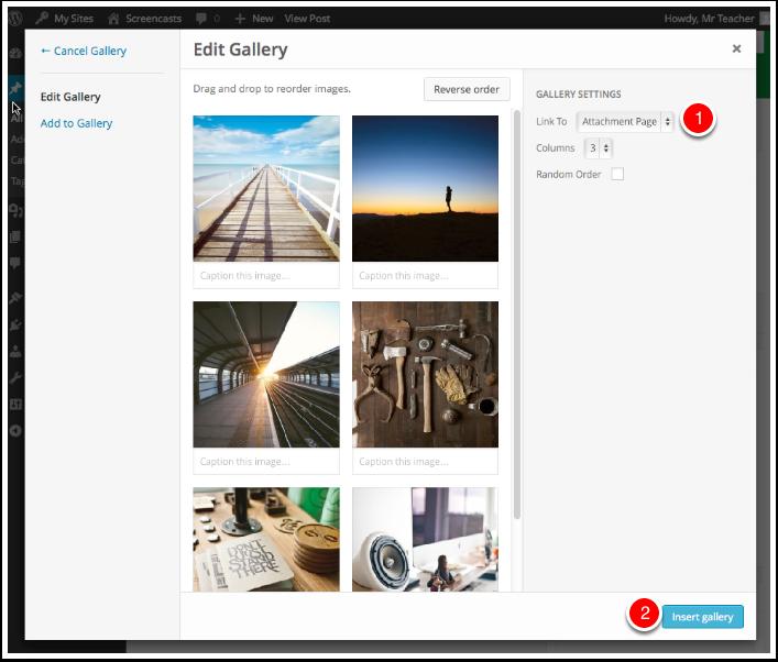 Screenshot Edit Gallery