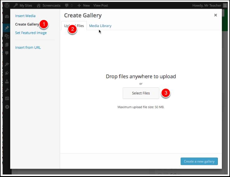 Screenshot Select Files