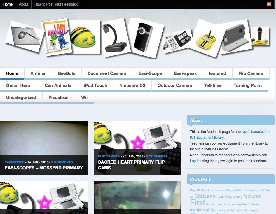 Screenshot: spectrum-example