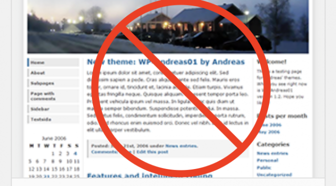 Retirement of WP-Andreas01 theme