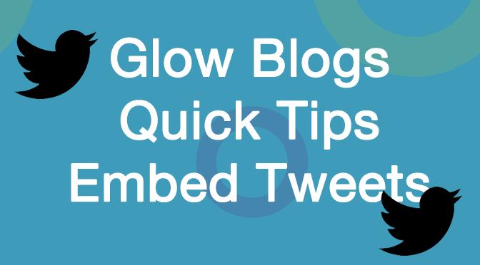 Quick Tip: Embed Tweet