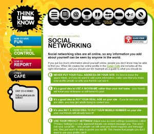Thinkuknowsocialnetworking