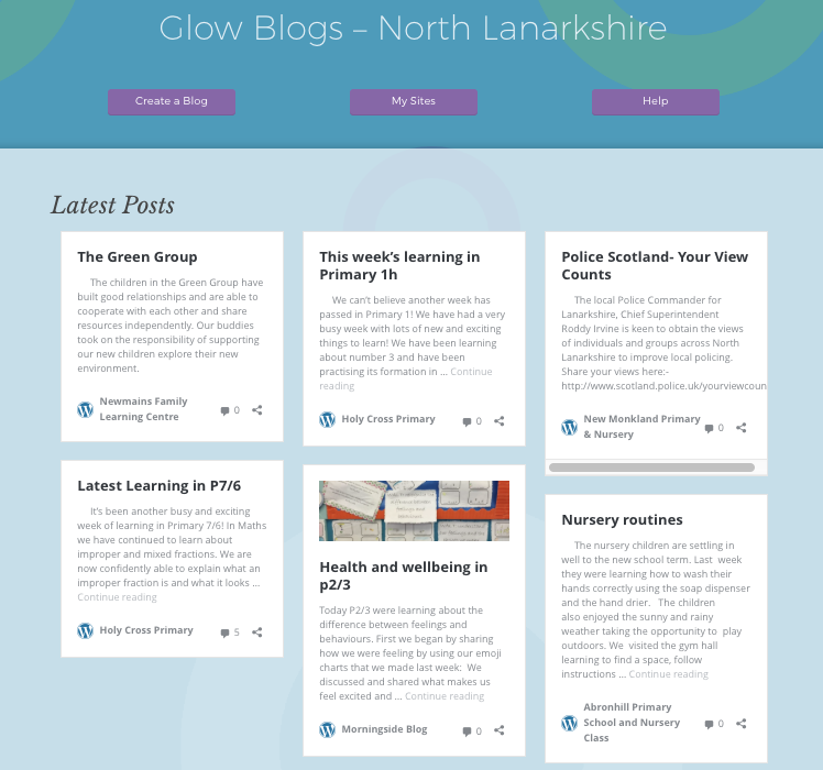glowblogs-nlc-home