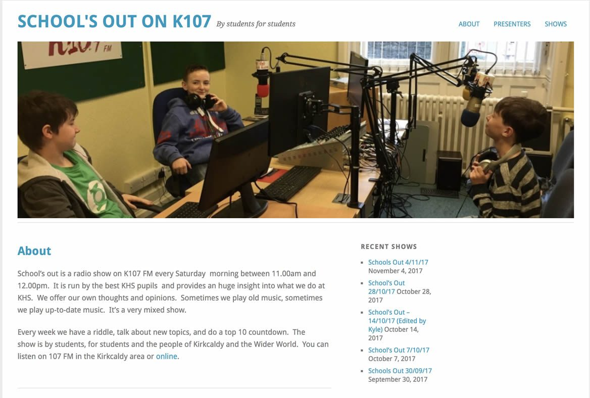 SCHOOL'S OUT ON K107